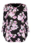 G2 Chic Women's Floral Printed Summer Top