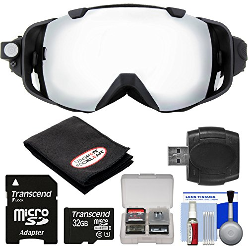 Coleman VisionHD G9HD-SKI 1080p HD Action Video Camera Camcorder Waterproof POV Snow and Ski Goggles with 32GB Card + Reader + Anti-Fog Cloth + Kit (Coleman Hd Goggles compare prices)
