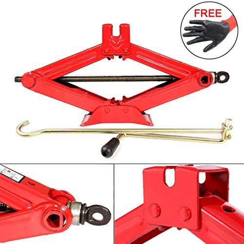 Dr.Roc Premium RustProof Lifting Scissor Jack - 1 Ton(Standard) (Dr Iron compare prices)