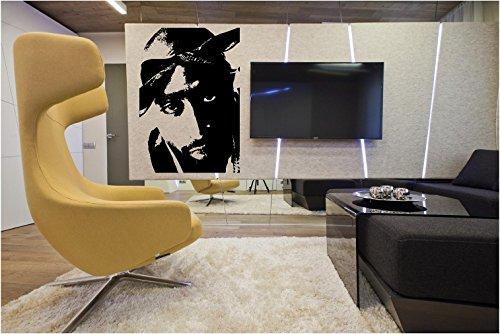 Tupac Shakur Style 3 Wall Decal Sticker Home Decor 23