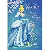 Hallmark Sister Birthday Card - Disney's Cinderella Design