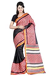 RGR Enterprice Woman's Bhagalpuri Designer Saree (KIRTI BHAGALPURI_Multi-Coloured_Free Size)