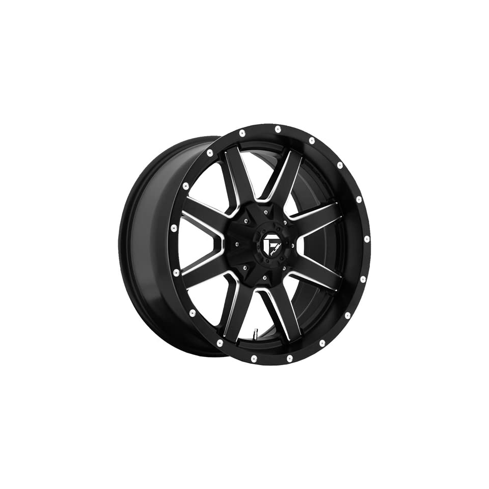 Fuel Maverick 20 Black Wheel / Rim 8x6.5 with a 1mm Offset and a 125.2 Hub Bore. Partnumber D53820908250