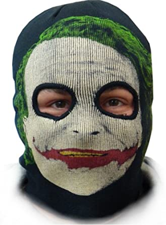 The Dark Knight Joker Combination Ski Mask & Winter Beanie