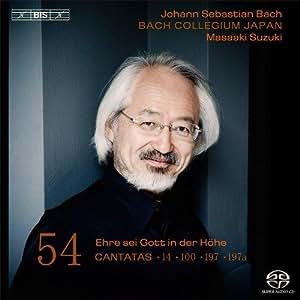 Bach: Cantatas Volume 54 [BWV14/ 100/ 197/ 197a] [Masaaki Suzuki]