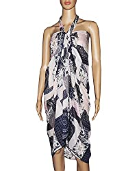 Sarong or Pareo Swim Cover Up Multipurpose Colorful Beachwear