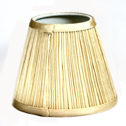 Tan Mini Fabric Lampshade