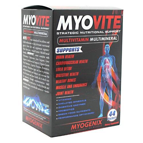 Myovite Multivitamin & Multimineral Formula, 44 Packets, From Myogenix