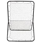 Multi-Sport Pitchback Screen - Full Size Rebound Net Return Trainer ELITE by Trademark Innovations