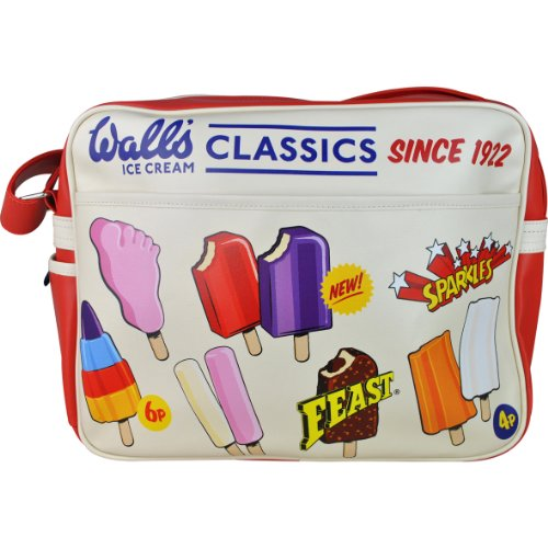 Wall's® Ice Cream Classics Lolly Retro Vintage Shoulder Messenger Bag. Lollies from your childhood!