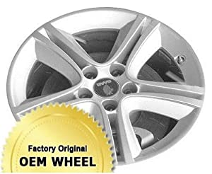 SAAB 3-Sep 17X7 5 DOUBLE SPOKES Factory Oem Wheel Rim- SILVER – Remanufactured