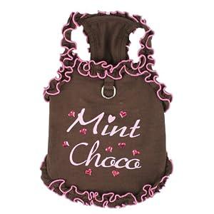 Pinkaholic New York Mint Choco Top, Brown, Medium