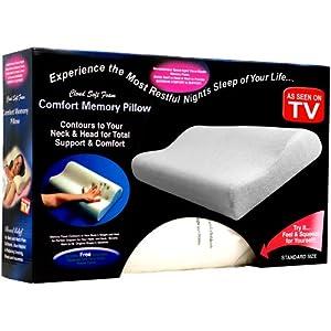 Remedy Comfort Memory Foam Bed Pillow