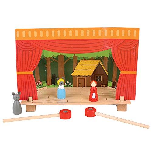 Bigjigs Toys Théâtre magnétique
