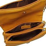 BMC-Womens-PU-Leather-Triple-Compartment-Zipper-Tassel-Fashion-Clutch-Handbag