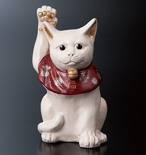 九谷焼 5号置物 招き猫 :宮本直樹