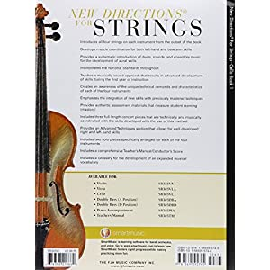 New Directions for Strings Cello Book 1