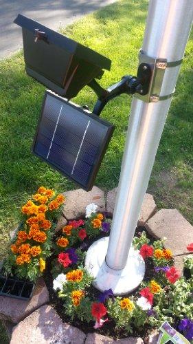 Commercial Led Solar Flagpole Light