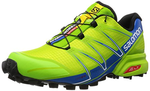 Salomon 372608 Scarpe Sportive da Uomo, Multicolor (Granny Green/Union Blue/White), 43