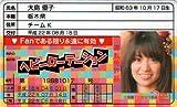 AKB48免許証 ヘビーローテーション【大島優子】