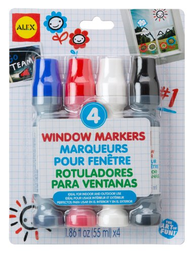ALEX Toys Artist Studio 4 Window Markers