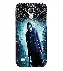 PrintDhaba Joker D-3994 Back Case Cover for SAMSUNG GALAXY S4 MINI (Multi-Coloured)