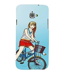 SEXY GIRL Designer Back Case Cover for Infocus M350