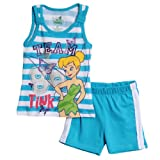 Disney Baby-girls Infant Tinkerbell 2 Piece Short Set