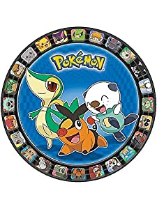 "Pokemon 7"" Dessert Plates Birthday Party Supplies (8) from Amscan"