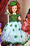 IRISH COLLEEN DOLL - A Vintage 1951 Crochet Pattern ~ Kindle eBook Download (Ireland, Irish, St Patrick