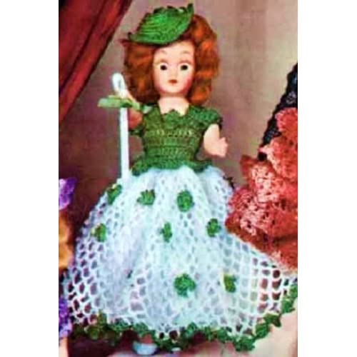 Irish, St Patrick's Day, Dolly, Toys, Girls): Northern Lights Vintage
