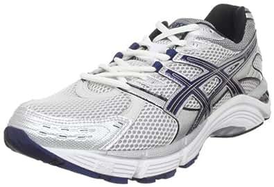 ASICS Men's GEL-Fortitude 5 Running Shoe,White/Navy/Lightning,10.5 (2E) US