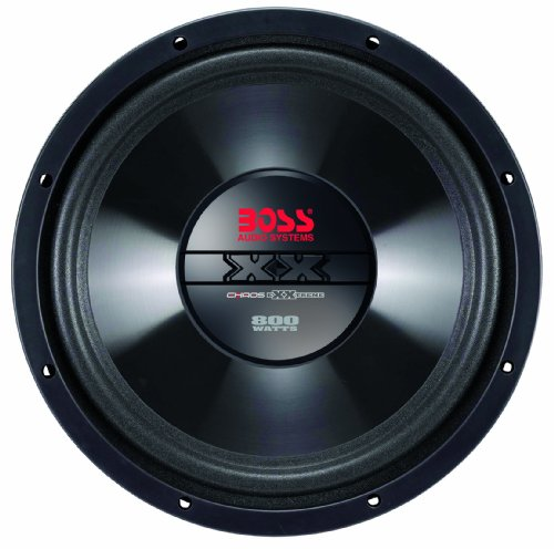 Boss Audio Cx15 Chaos Exxtreme 15-Inch 1000-Watt Single Voice Coil Subwoofer