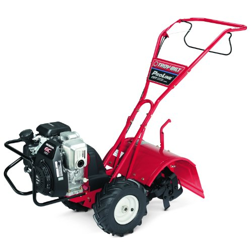 Troy-Bilt Pro-Line CRT 10-Inch 160cc Honda GC160 Gas Powered Counter Rotating Rear Tine Tiller (Honda Cultivator compare prices)