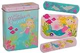 #9: 20 Kinderpflaster mit Meerjungfrau Motiv in Metall Box für Kinder Pflasterbox Märchen Nixe Pflaster