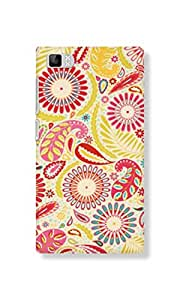 Back Cover for Xiaomi Mi3 ABSTRACT LEAF