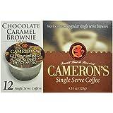 Cameron's Chocolate Caramel Brownie Single Serve Coffees,  12-Count