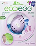 Simply place the Ecoegg Laundry Egg on top of your washing in the drum of your machine. Completely replaces washing powders, liquids, gels and tablets. No mess, no fuss. Contains no harsh chemicals, hypoallergenic, dermatologically tested and not tes...