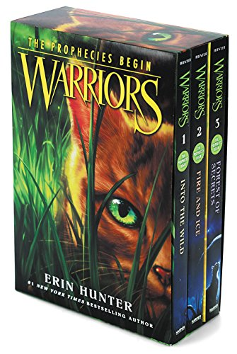 Warriors Box Set: Volumes 1 to 3: Into the Wild, Fire and Ice, Forest of Secrets (The Prophecies Begin)