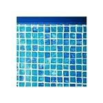 Liner uni bleu pour piscine ronde dia...