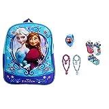 Disney Frozen Mini Backpack With Necklace & Bracelet Set 2 Pack, Watch & Socks