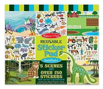 Reusable Sticker Pad Habitats front-983601