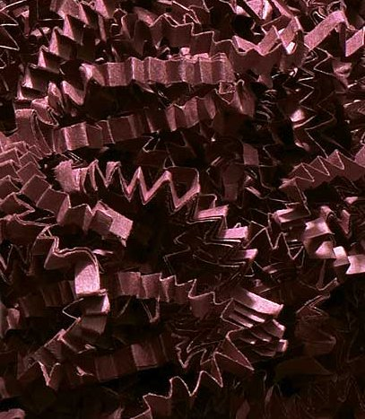 1/2 LB Crinkle Cut Paper Shred - Burgundy