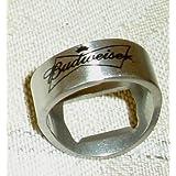Budweiser Beer Stainless Steel Bottle Opener Ring ~ Beer Bottle Opener Ring