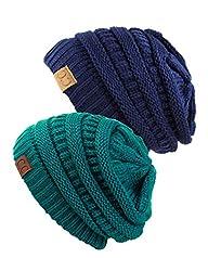 Unisex Trendy Warm Chunky Soft Stretc…