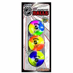 Buy Franklin NHL Extreme Color High Density Street Hockey Ball - Pack of 15 by Franklin