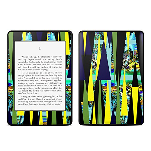 Sun Beam Design Protective Decal Skin Sticker For Amazon Kindle Paperwhite Ebook Reader (2-Point Multi-Touch) front-484789