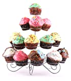 Francois et Mimi DCP0023 23-Cupcake Multi-Tiered Metal Dessert and Cupcake Stand