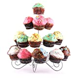 51w6Dt5YpAL. SL500 SS160  Francois et Mimi 23 Cupcake Multi Tiered Metal Dessert and Cupcake Stand   $7.75!