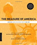The Measure of America: American Human Development Report, 2008-2009 (A Columbia / SSRC Book)